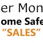 Cyber Monday Safes Sales