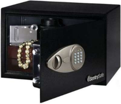Sentrysafe X055 Small Safes Under 100 With An Electronic Lock