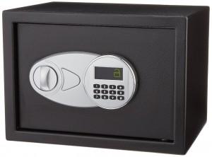 AmazonBasics Security Safe – Electronic Lock College Dorm Safe