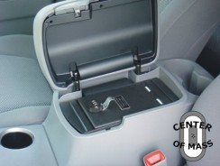 Car Center Console Gun Safe – High-Quality Console Vehicle Vault