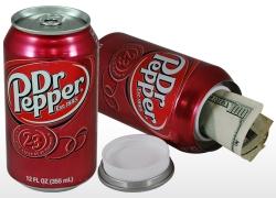 Dr Pepper Diversion Can Safe