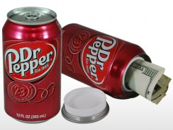 Dr Pepper Diversion Can Safe
