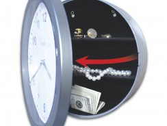 Hidden Safe Wall Clock – Embassy JB4985