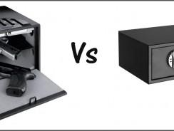 Compare the Gunvault GV2000C-STD Gun Safe and Barska Biometric Gun Safe